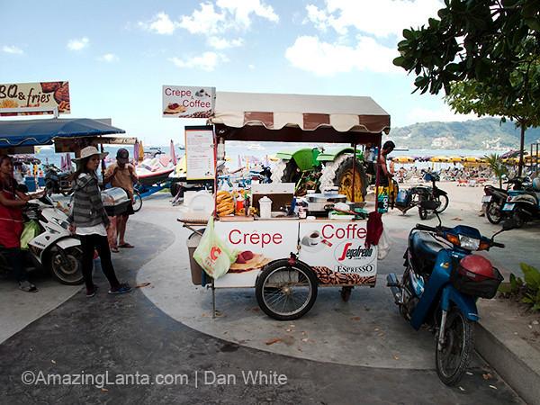 Crepe Stall. Patong Beach. Phuket. Thailand.