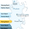Patong Beach Phuket Location Map