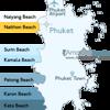 Naithon Beach Phuket Location Map