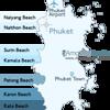 Phuket Beach Location Map
