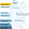 Naiyang Beach Phuket Location Map
