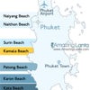 Kamala Beach Phuket Location Map
