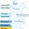 Kata Beach Phuket Location Map