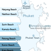 Yenui Beach Phuket Location Map