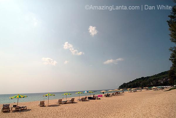 Naithon Beach. Phuket. Thailand.