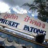 Public Bus. Phuket. Thailand.