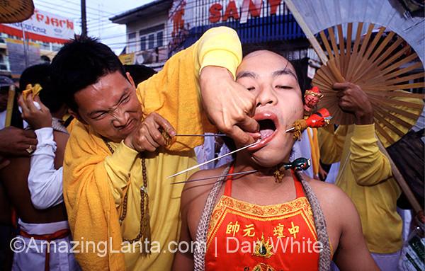 Vegetarian Festival. Phuket. Thailand.