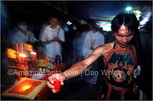 Phuket Vegetarian Festival. Thailand.