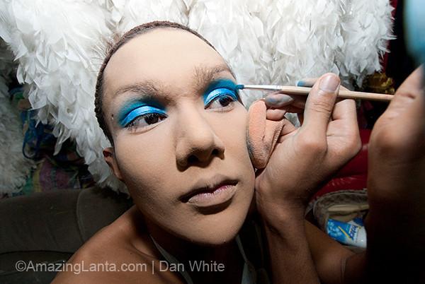 Transvestite cabaret, Phuket, Thailand