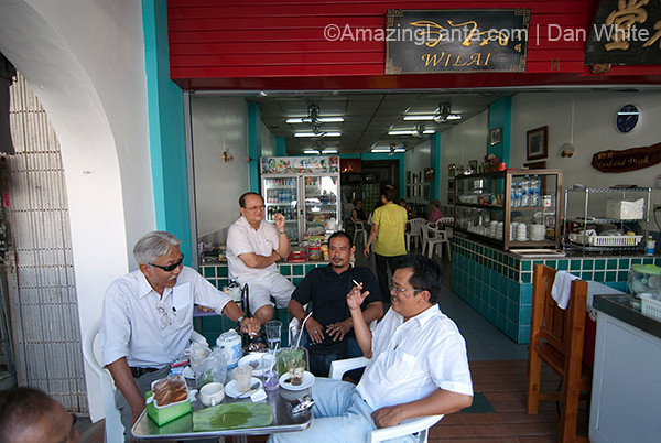 Sino-Portuguese achitecture in Phuket. Thailand.