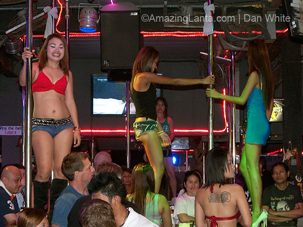 Bar girls and nightllife. Soi Bangla. patong Beach. Phuket. Thailand.