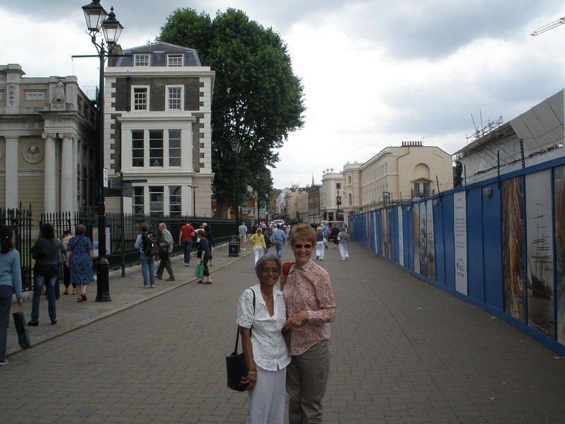 Maureen and Saradha in Greenwich