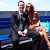 Phil and Nicole on Block Island ferry