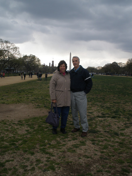 A cold and windy DC