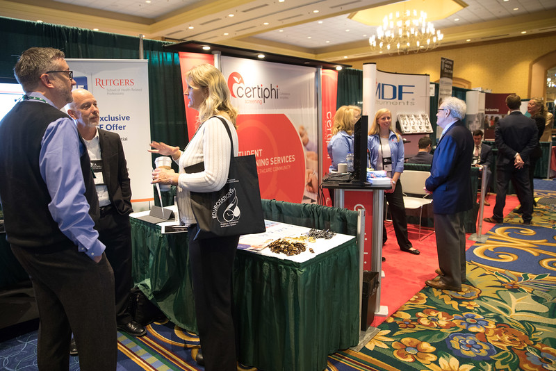 Minneapolis, MN - The PAEA 2016 Education Forum 2016 - Attendees in the exhibit hall at the Physician Assistant Education Association Meeting here today, Friday October 14, 2016. Photo by © PAEA/Scott Morgan 2016 Contact Info: todd@medmeetingimages.com Keywords:
