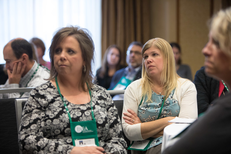 Minneapolis, MN - The PAEA 2016 Education Forum 2016 - Education sessions at the Physician Assistant Education Association Meeting here today, Friday October 14, 2016. Photo by © PAEA/Scott Morgan 2016 Contact Info: todd@medmeetingimages.com Keywords: