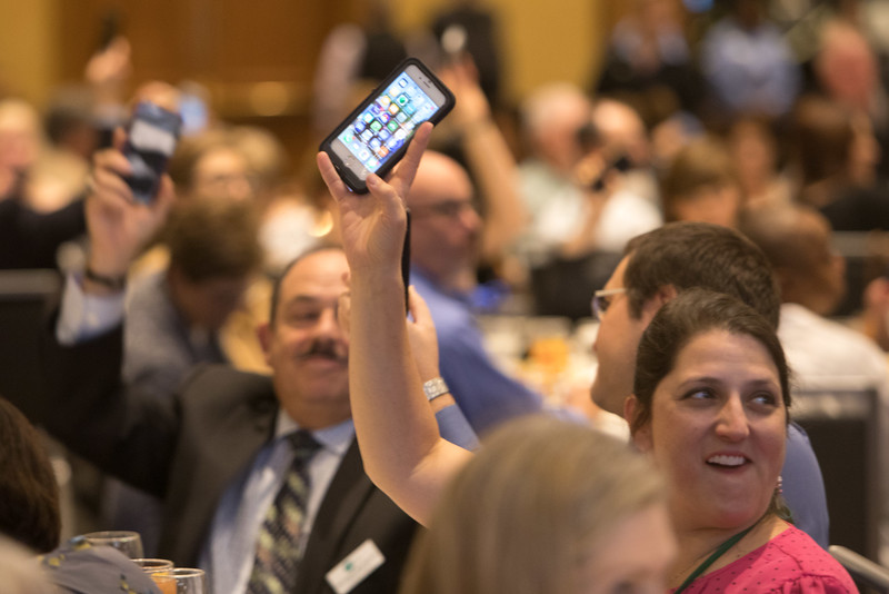 Minneapolis, MN - The PAEA 2016 Education Forum 2016 - The Awards Lunch at the Physician Assistant Education Association Meeting here today, Friday October 14, 2016. Photo by © PAEA/Scott Morgan 2016 Contact Info: todd@medmeetingimages.com Keywords: