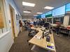 Monitoring Room of NERSC Computing Lab