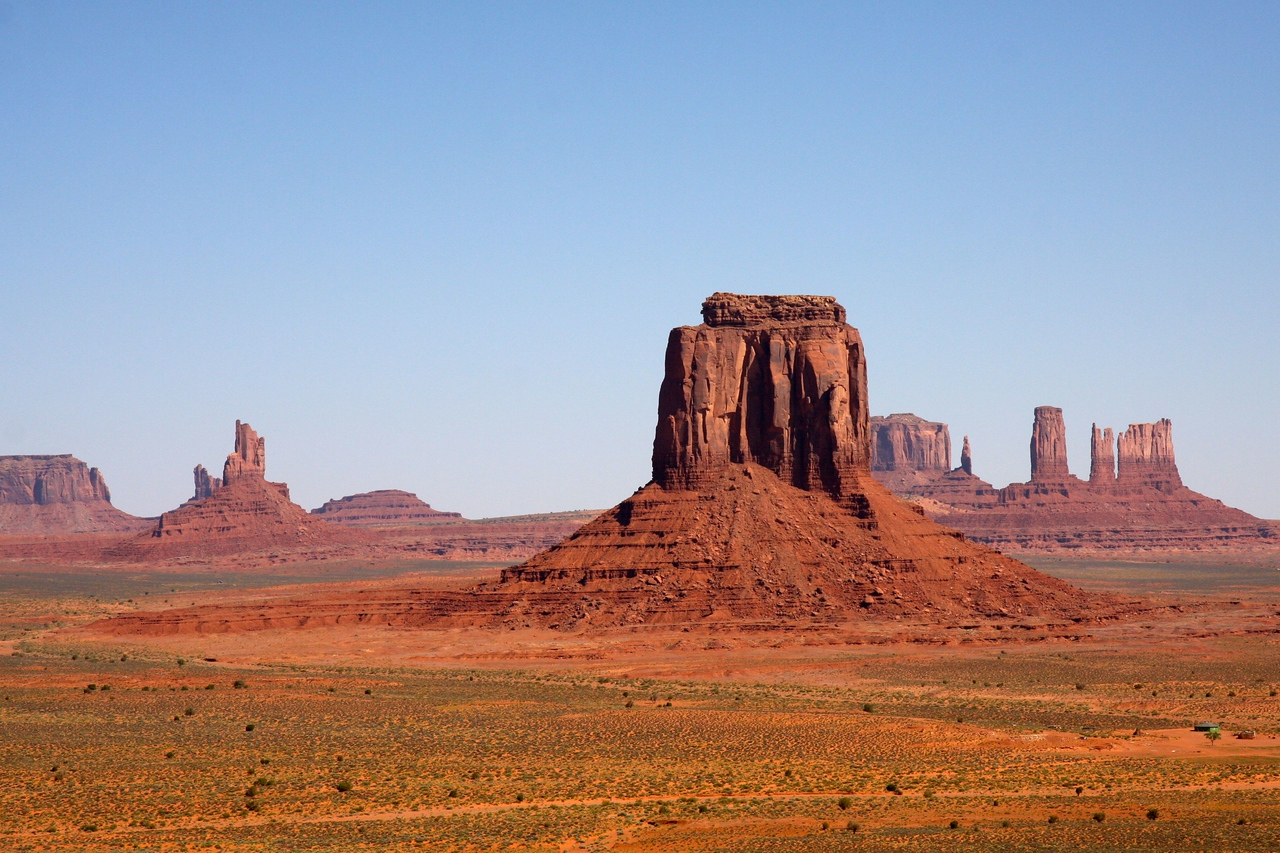 Monument Valley is spectacular.