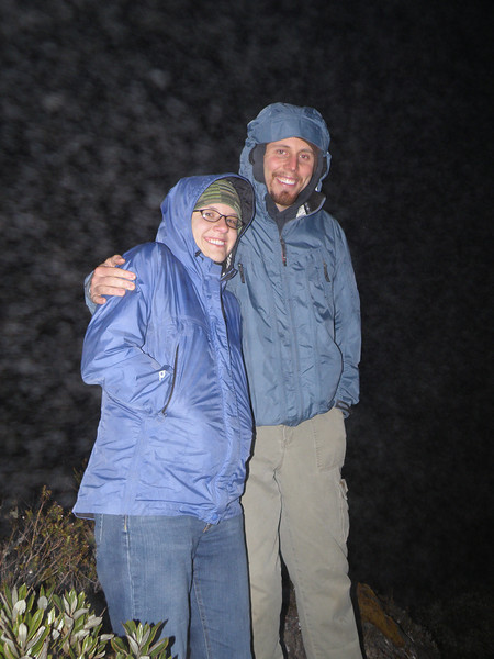 David and Sarah - QERC field station managers.