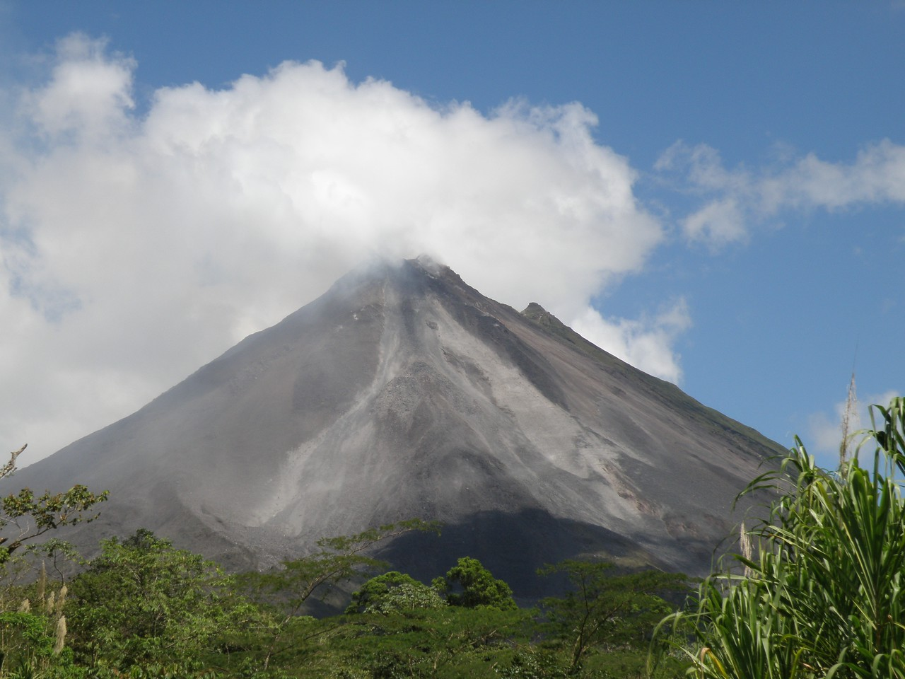 Mount Arenal - active volcano