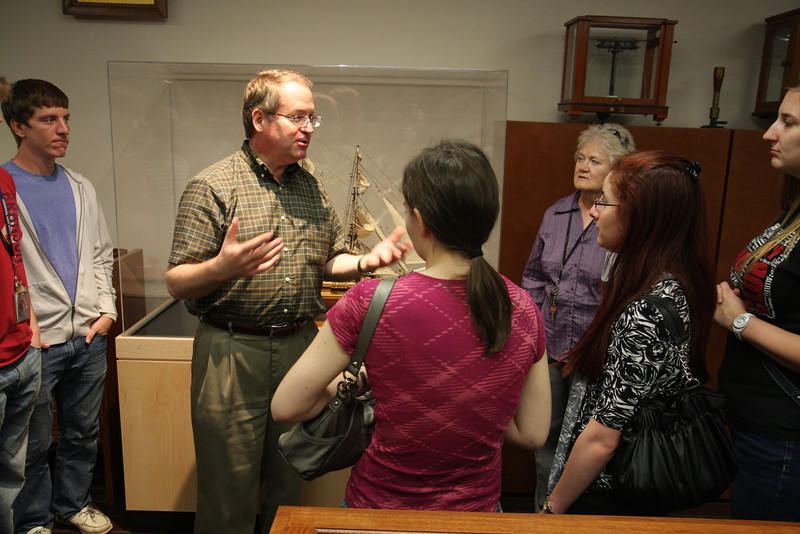Dr. Kerry Magruder,curator of the OU Rare Books Collections, talks about Darwin and the voyage of the Beagle.