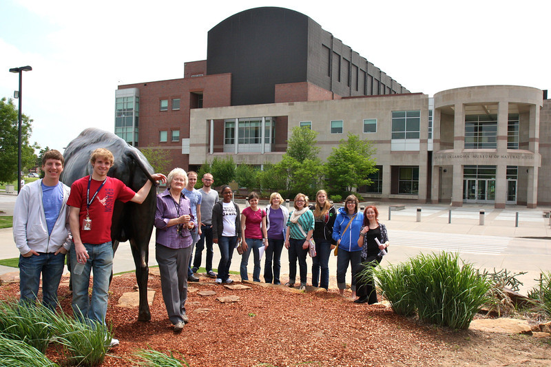April 12 field trip to Sam Noble Museum in Norman.