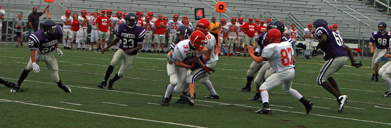 Bedford at Pioneer - Freshman Football 2009