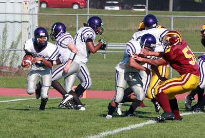 Pioneer at Dexter - Freshman Football 2009