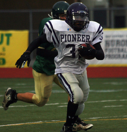 Pioneer at Huron - Freshman Football 2009