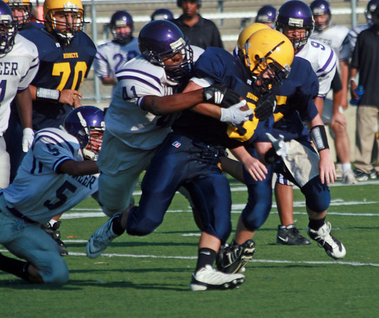 Pioneer at Saline - Freshman Football 2009