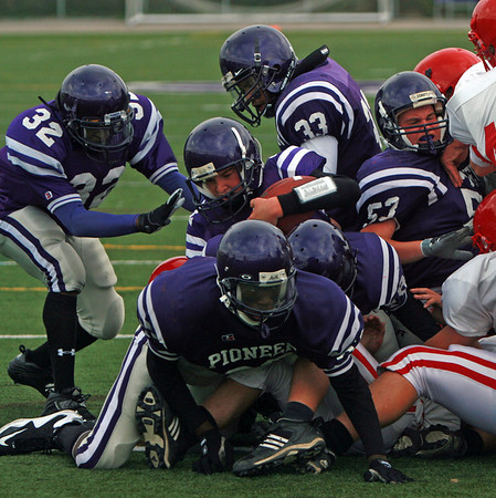 Monroe at Pioneer - Freshman Football 2009