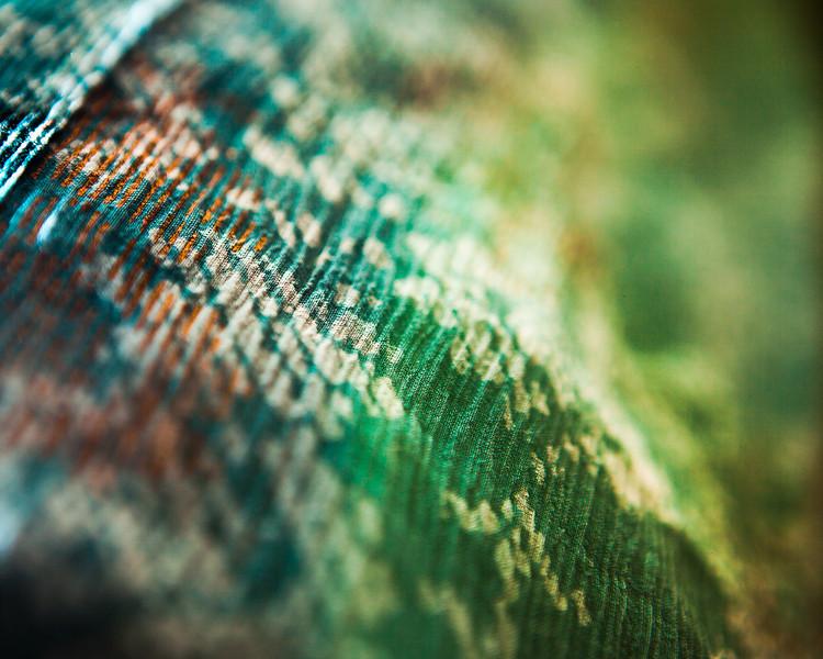 Blue-Green Textile