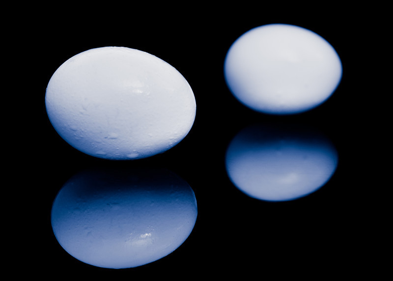 Split Tone Eggs
