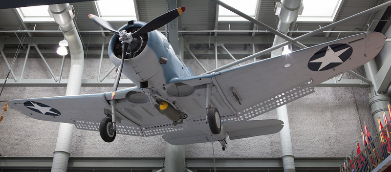 "Douglas SBD Dauntless<br /> <br /> Was the US Navy's primary dive bomber from 1940 to 1943 when it was replaced by the SB2C Helldiver.  It sank more ships than any other aircraft during WWII.  <br /> <a href=""http://en.wikipedia.org/wiki/Douglas_SBD_Dauntless"">http://en.wikipedia.org/wiki/Douglas_SBD_Dauntless</a>"