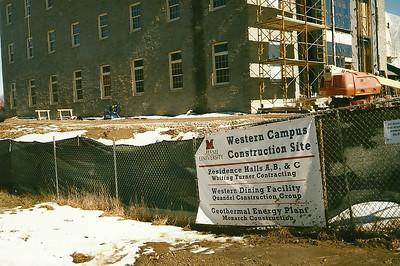 Western Campus Construction