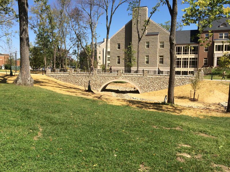 new Western Campus Bridge