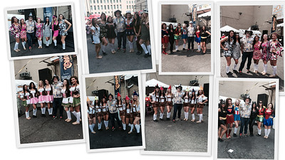 Every Hour on the Hour with the U.C. Dance Team!!!!  Oktoberfest
