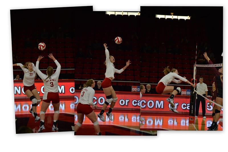 Redhawk Volleyball (Fet. #11 Jenny Ingle)