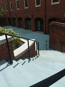 Back porch of Tappan Hall. Those stairs were not there when I was in school
