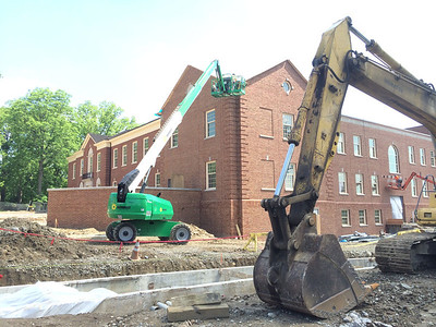 Renovated Kreger Hall Still in Progress