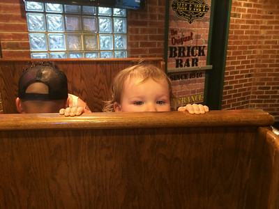 The little Freshman Sneaking into Mac n Joes again.