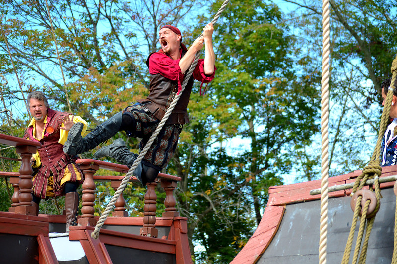Ohio Renfest Pirate Stunt Show