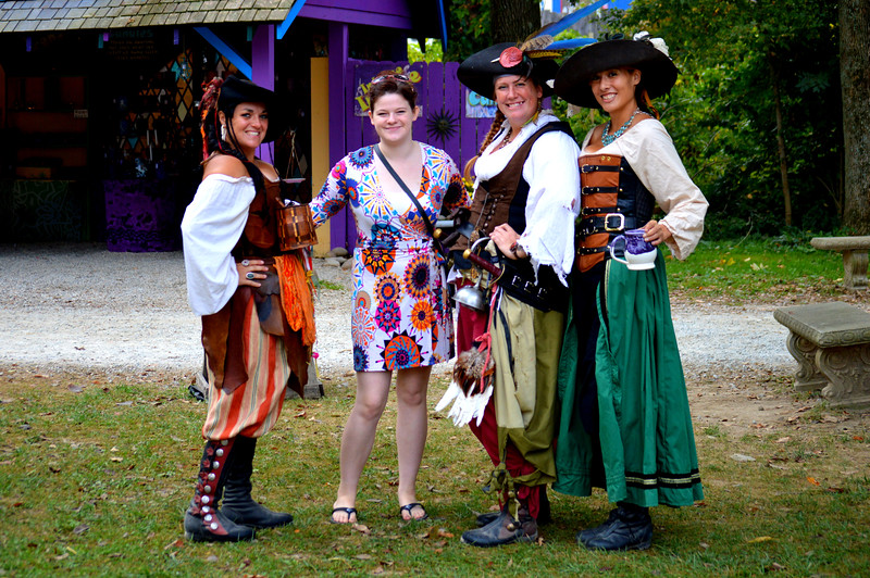 Renfest-Laura and the Pirates