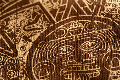 Jan 25th - Mayan calendar on fabric.