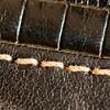 Jan 17th - Worn leather.