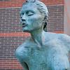 Jan 14th - Statue at Crystal Mall (Burnaby).