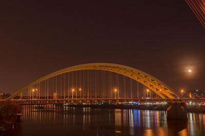 12-01-2012 - Ohio River from the Purple People Bridge Cincinnati/Newport
