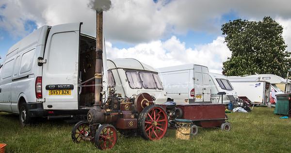 YX55 FVH Steam engine