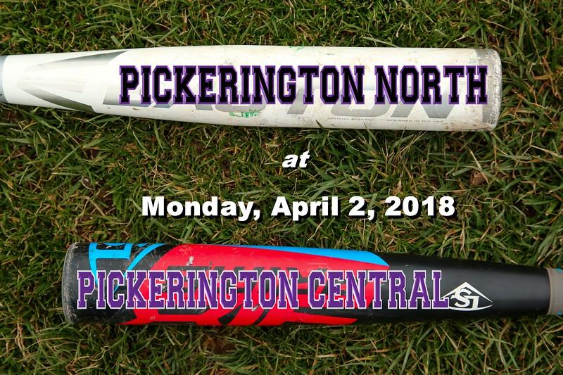 Pickerington High School North Panthers at Pickerington High School Central Tigers - Monday, April 2, 2018